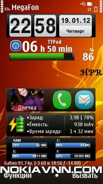 Symbian^3 Nokia Anna Belle – Russian – KnightOfBlack – Free