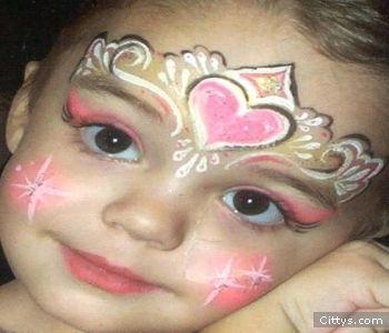 Mundo fili como pintar las caritas de los ni os - Como pintar la cara de nina de bruja ...