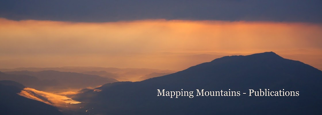 Mapping Mountains - Publications