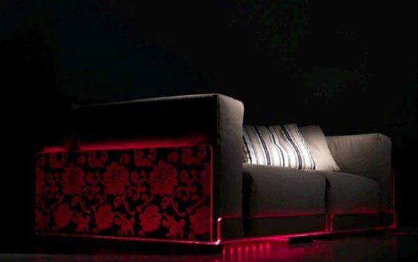 asami light sofa cool sofa design with beautiful led. Black Bedroom Furniture Sets. Home Design Ideas