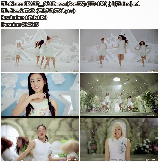 Download MV SKARF - Oh! Dance (GomTV Full HD 1080p)