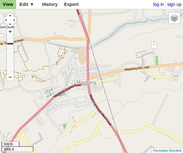 OpenStreetMap - Magalang