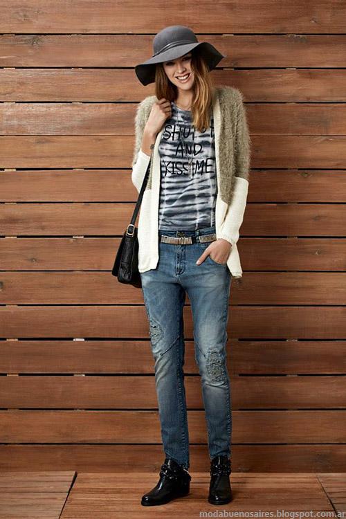 Kevingston Mujer saos tejidos otoño invierno 2015. Moda otoño invierno 2015.