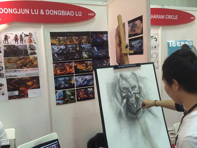 Singapore Toy, Game & Comic Convention STGCC 2015 artist alley