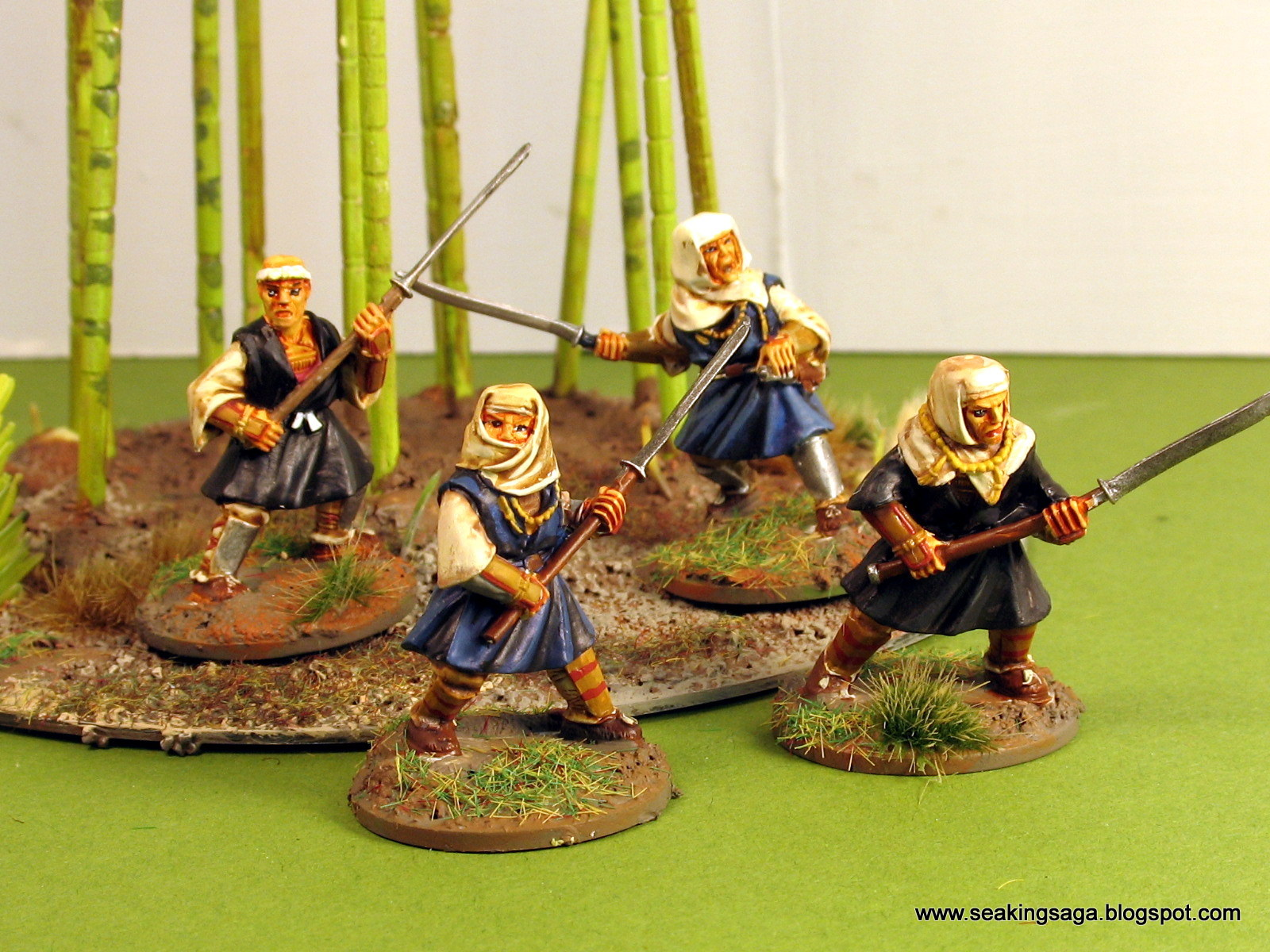 Ronin01 - Sohei Monk Buntai - North Star Military Figures