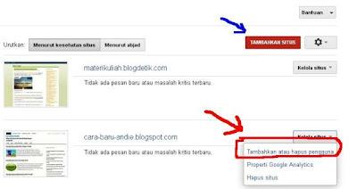 Cara baru memasukkan sitemap blog ke google
