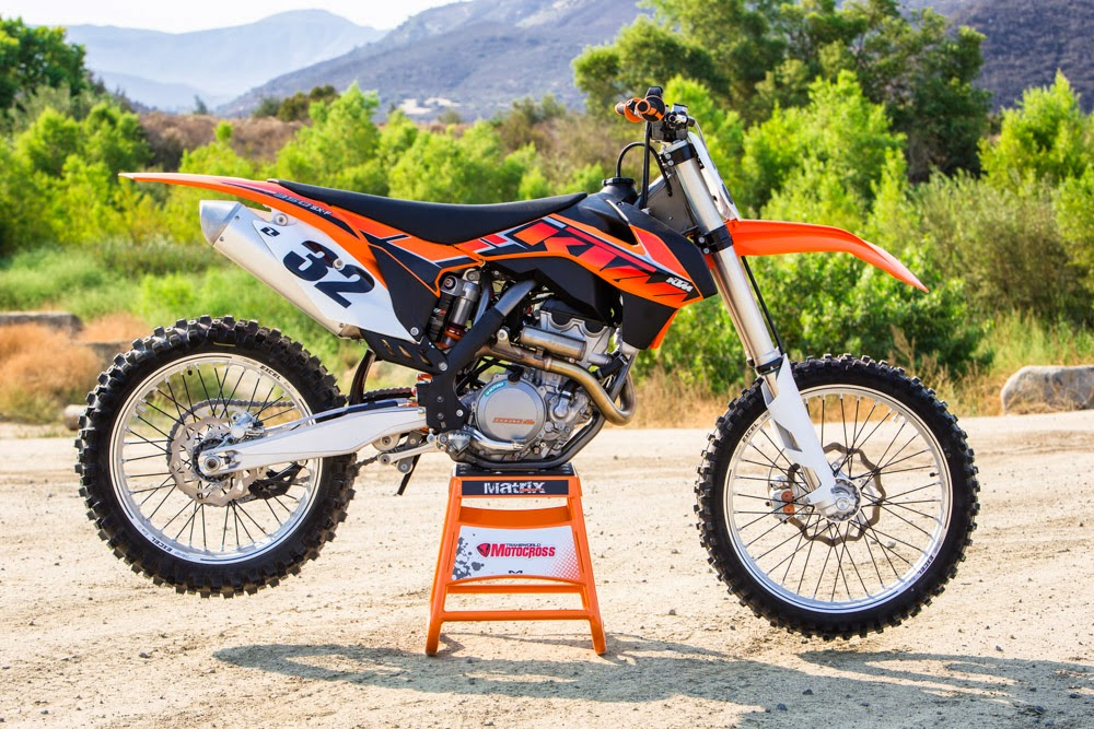 KTM  350 SX-F Motorcycles Engine