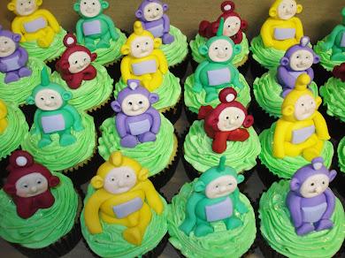 Teletubbie Cupcakes