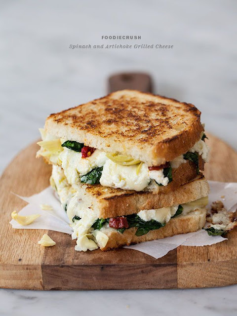 Gourmet Grilled cheese, fall comfort food