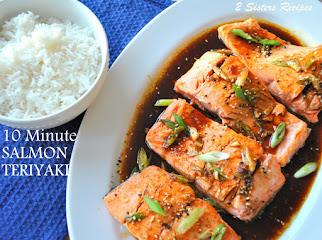 10 Minutes -Salmon Teriyaki !