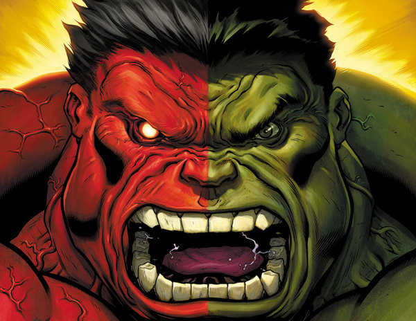 Red Hulk (Marvel Comics) Character Review - 2