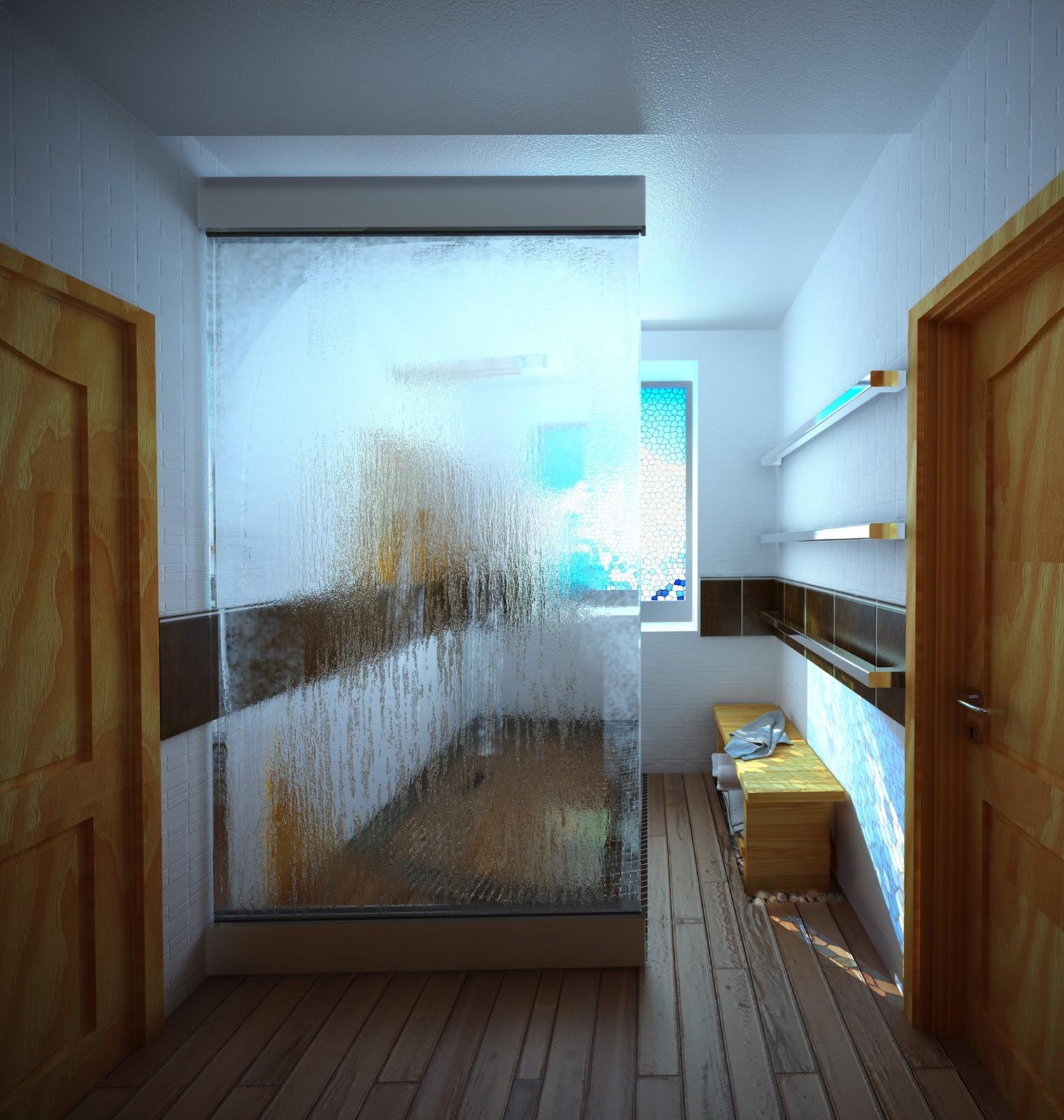 Interior del cuarto de ba o dise o de interiores exteriores dise o de espacios for Disenador de interiores