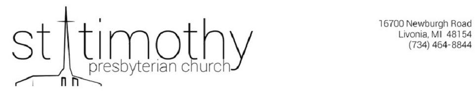 St. Timothy PCUSA Livonia, MI