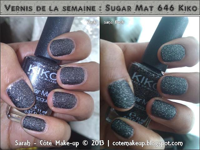 Sugar mat kiko noir
