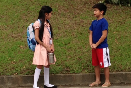 Andrea and Bugoy, the new kiddie love team?