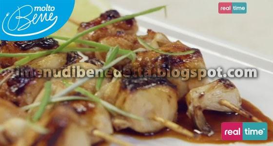 Yakitori (spiedini di pollo caramellati) di Benedetta Parodi