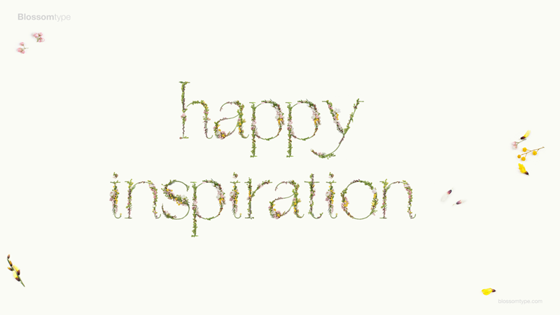 Happy Inspiration - Blossomtype