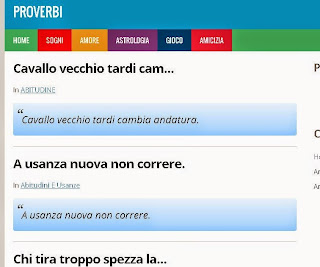 I migliori proverbi italiani