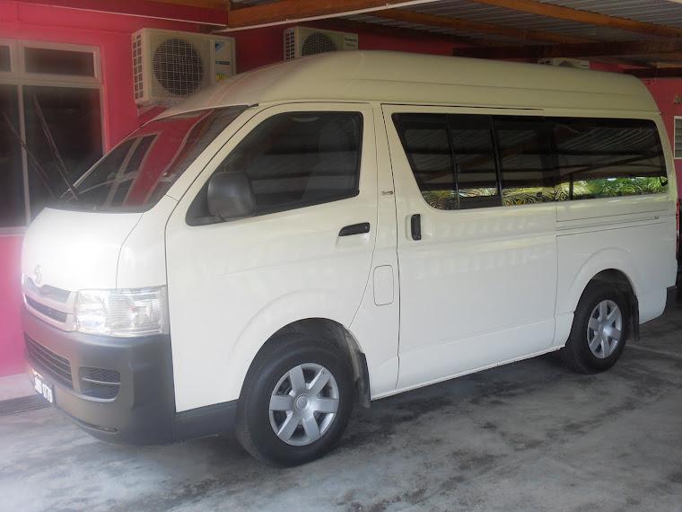 perkhidmatan sewa van dan mpv