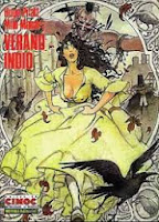 Verano indio,Hugo Pratt,  Milo Manara,Norma Editorial  tienda de comics en México distrito federal, venta de comics en México df