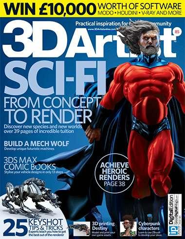 3D Artist Magazine Issue 85 2015