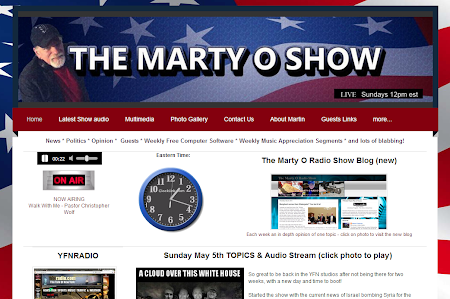 The Marty O Radio Show