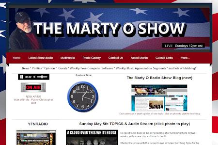 The Marty O Radio Show