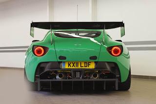 2011 Aston Martin V12 Zagato Racecar