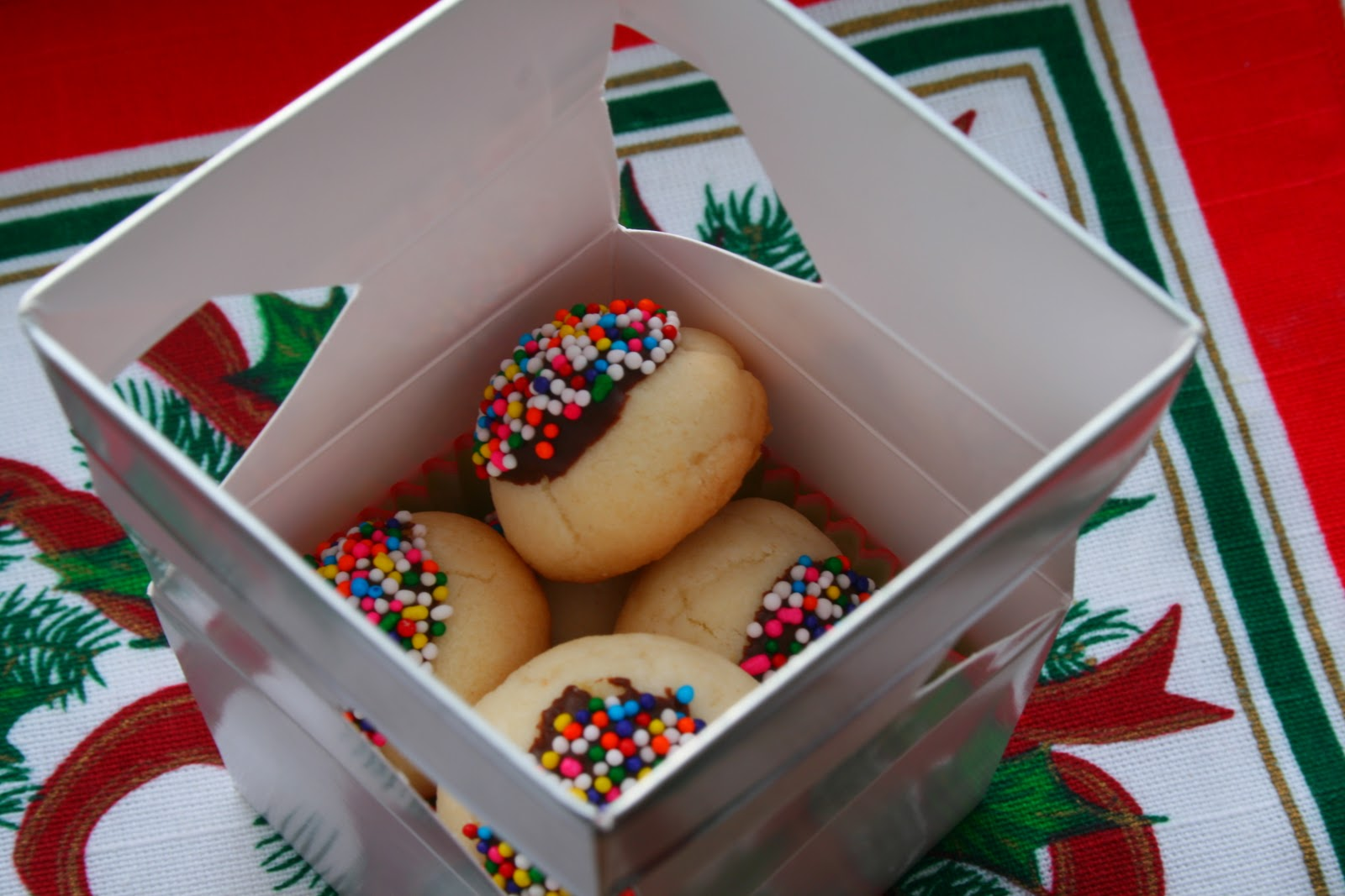 Homemade christmas cookies gift ideas