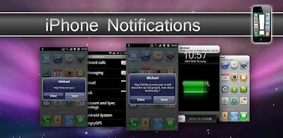 iPhone Notifications v3.6 Apk
