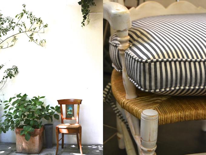 Preciosa fabrica de sillas en la provenza