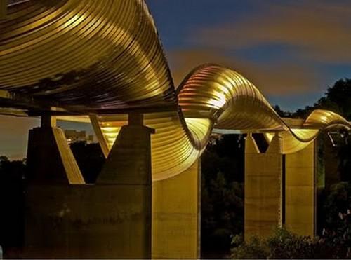 Puentes más curiosos del mundo - Henderson Waves, Singapur