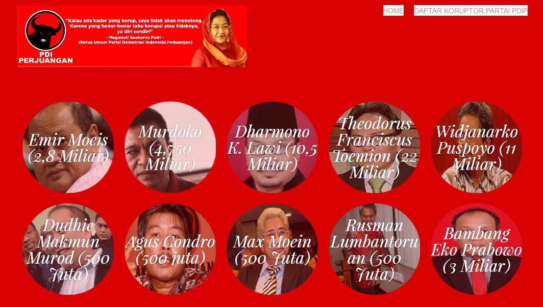 Beginilah Mayoritas Kelakuan Kader PDIP Yang Terkena Kasus Korupsi, Mengadu Ke Emak Sambil Nangis - nangis