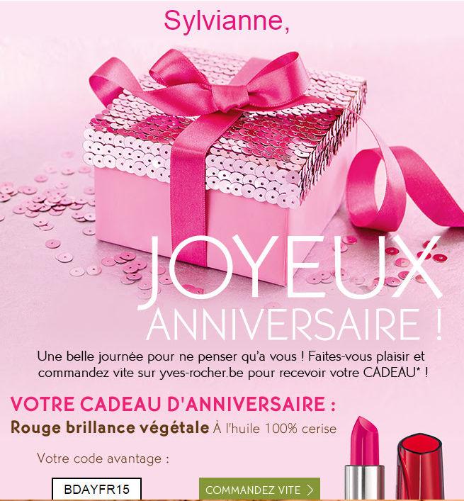 Bon Anniversaire Yves Rocher Gosupsneek