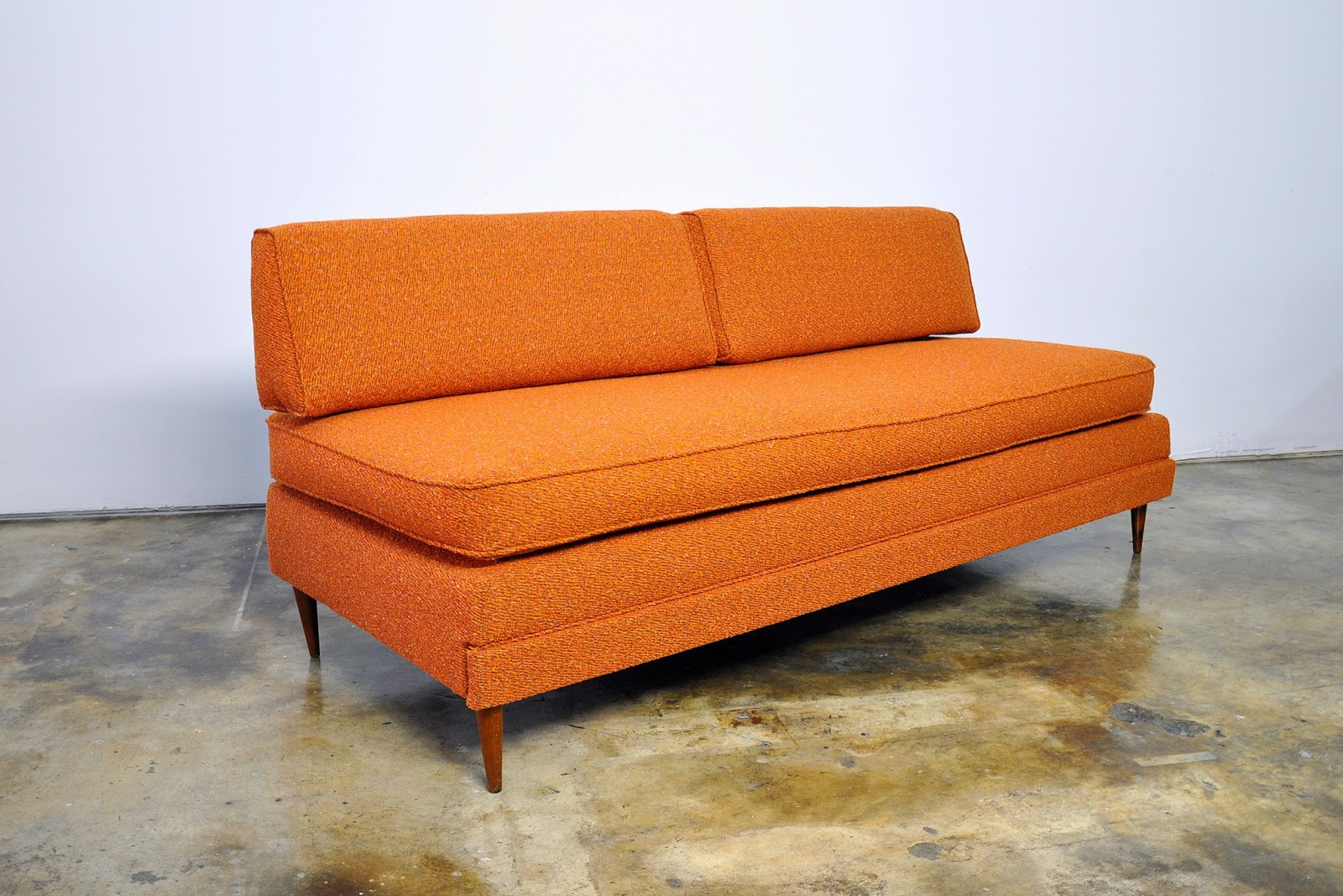 SELECT MODERN: Danish Modern Sofa Or Daybed With Trundle Pull Out Bed