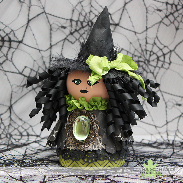Flower Pot Witch Halloween Craft Home Decor by Juliana Michaels