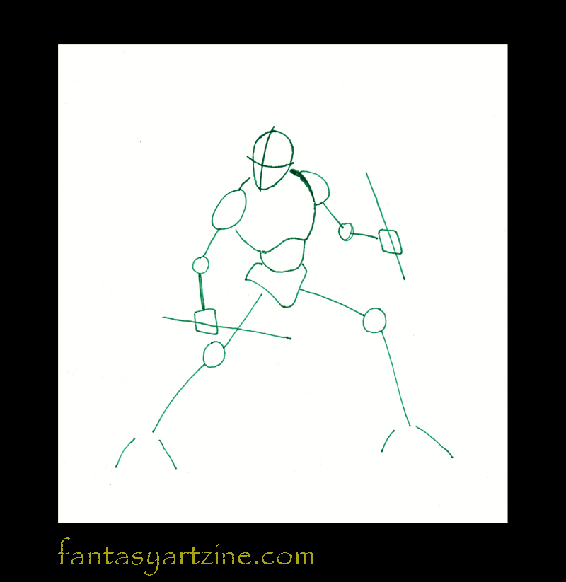 How to Draw Fantasy: How to draw Nightwing