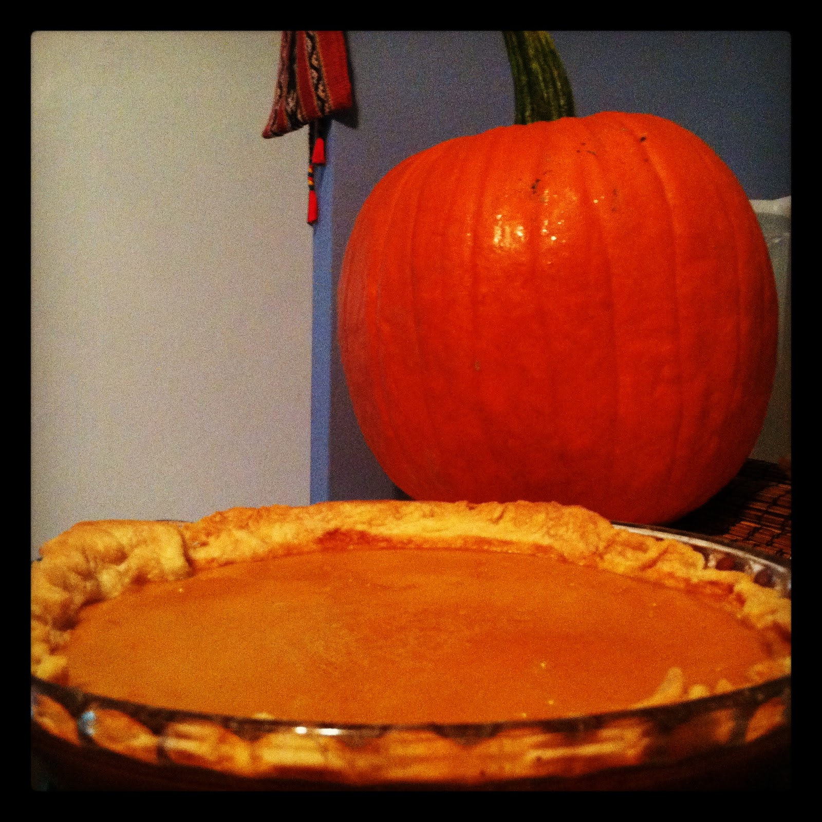 The Kitchen Holiday: Silky Smooth Pumpkin Pie