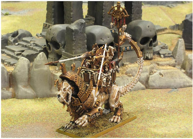 Tomb Kings Warsphinx Painted Photo