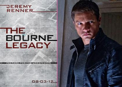 The Bournce Legacy Jeremy Renner Poster