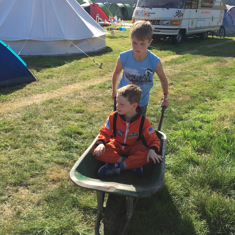Festival fun at Camp Bestival