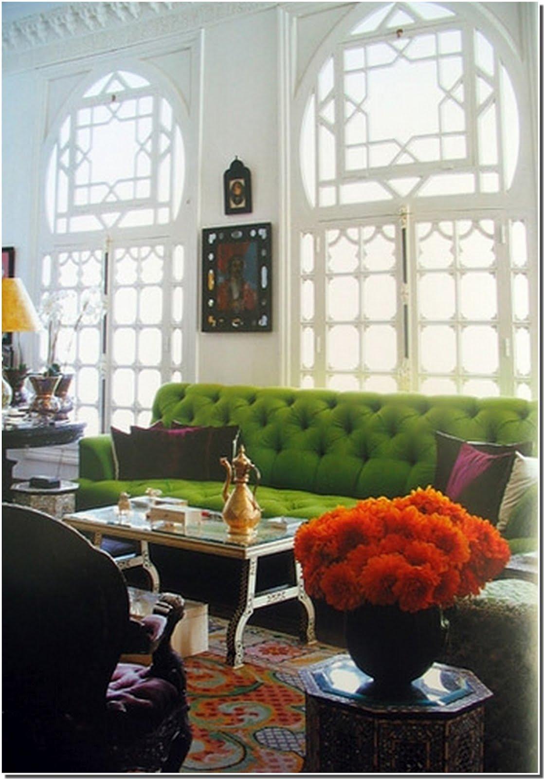 Nassima Home: Salon marocain traditionnel avec touche moderne