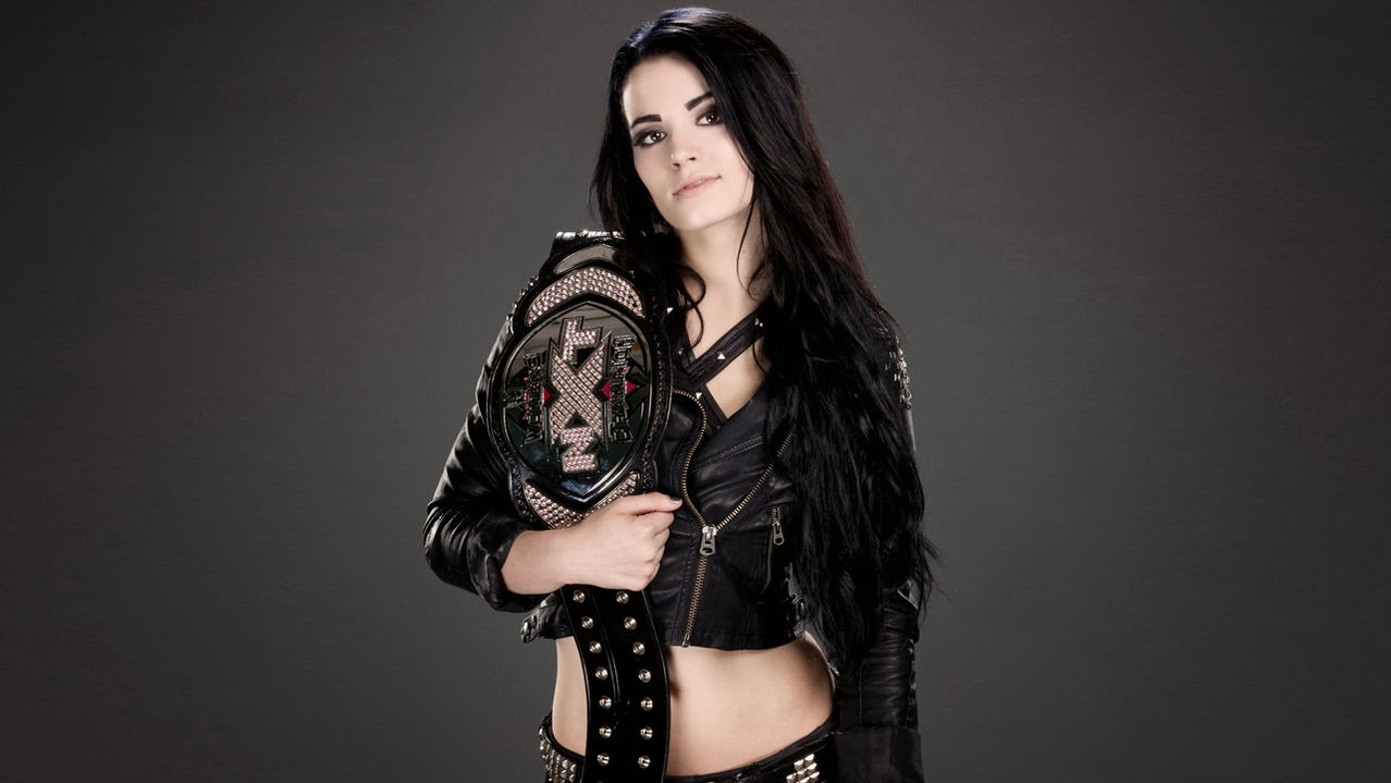 Paige WWE NXT Womens Champion Saraya Knight Anti Diva hot