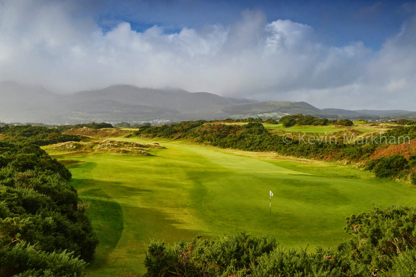 Hooked ireland 39 s golf courses royal county down voted for Royal county down