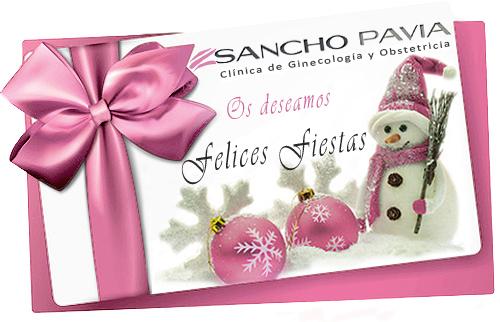 Felicitación Navidad Clínica Sancho Pavía