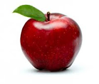 This is an image of an apple