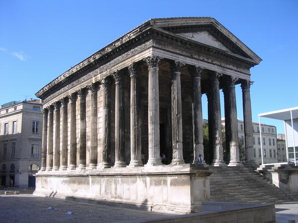 This Is Now Used To House Tourist Oriented Film On The Roman History Of  Nimes.