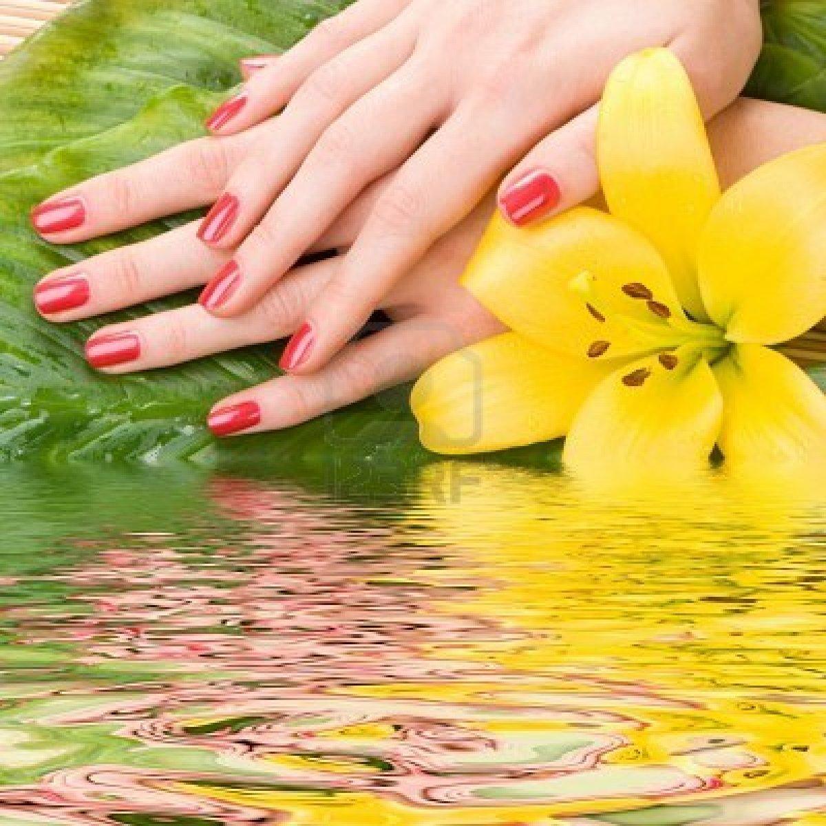 Желтые ногти во сне