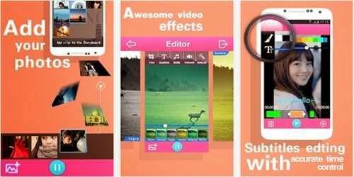 Aplikasi Android Untuk Menggabungkan Foto Menjadi Video Keren