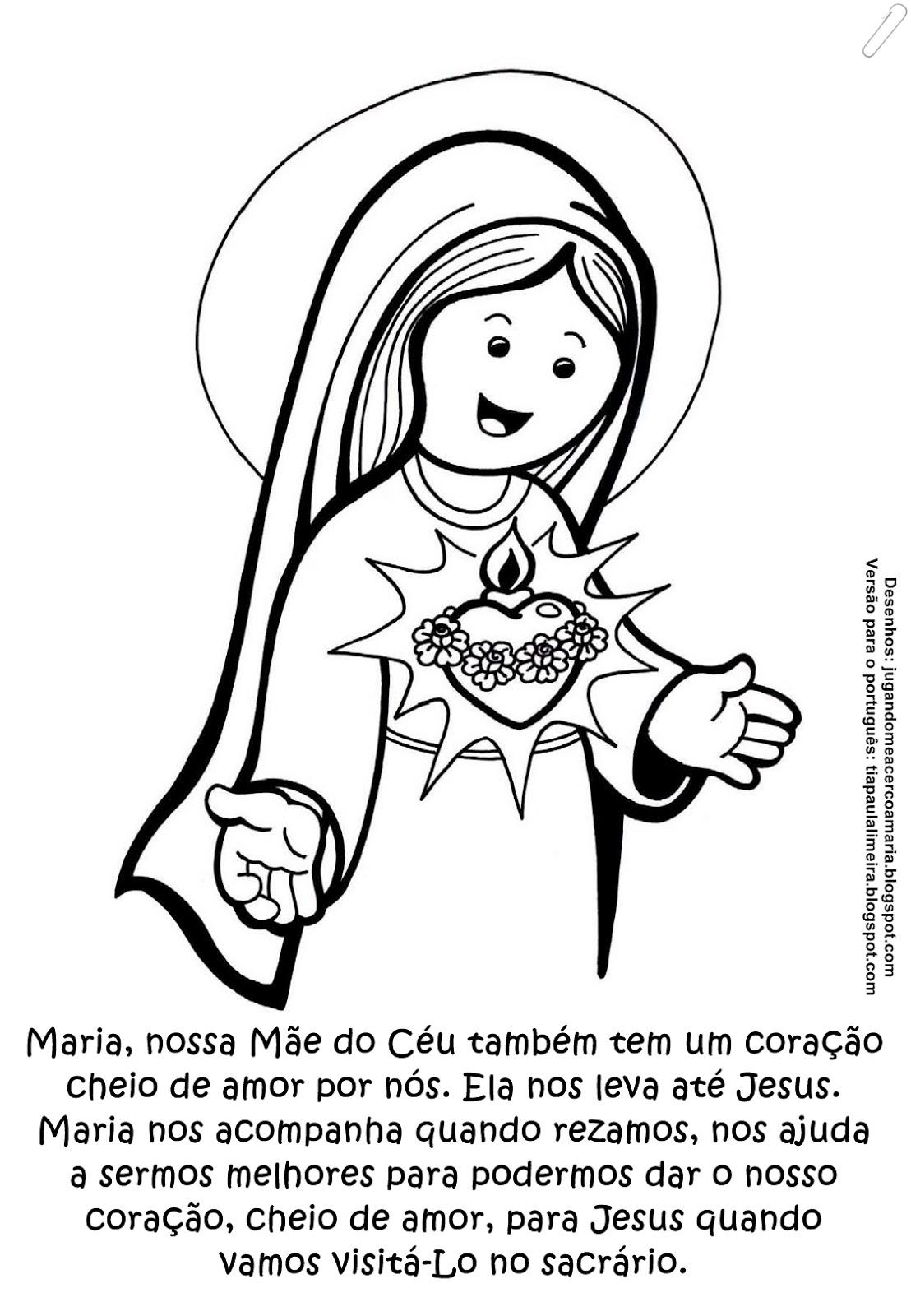 Tia Paula Sagrado Cora Jesus Imaculado